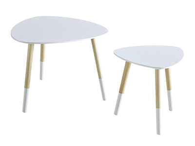 Lot de 2 tables basses