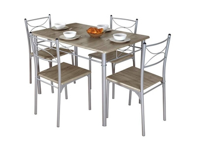 Table + 4 chaises Tuti