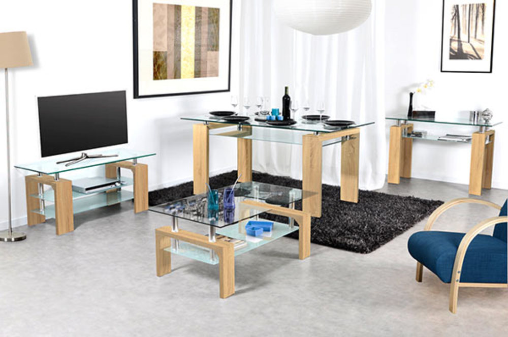 meuble tv gloria chene. Black Bedroom Furniture Sets. Home Design Ideas