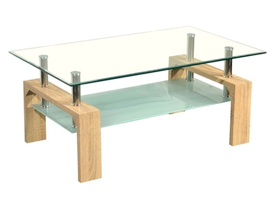 Table basse Gloria chene