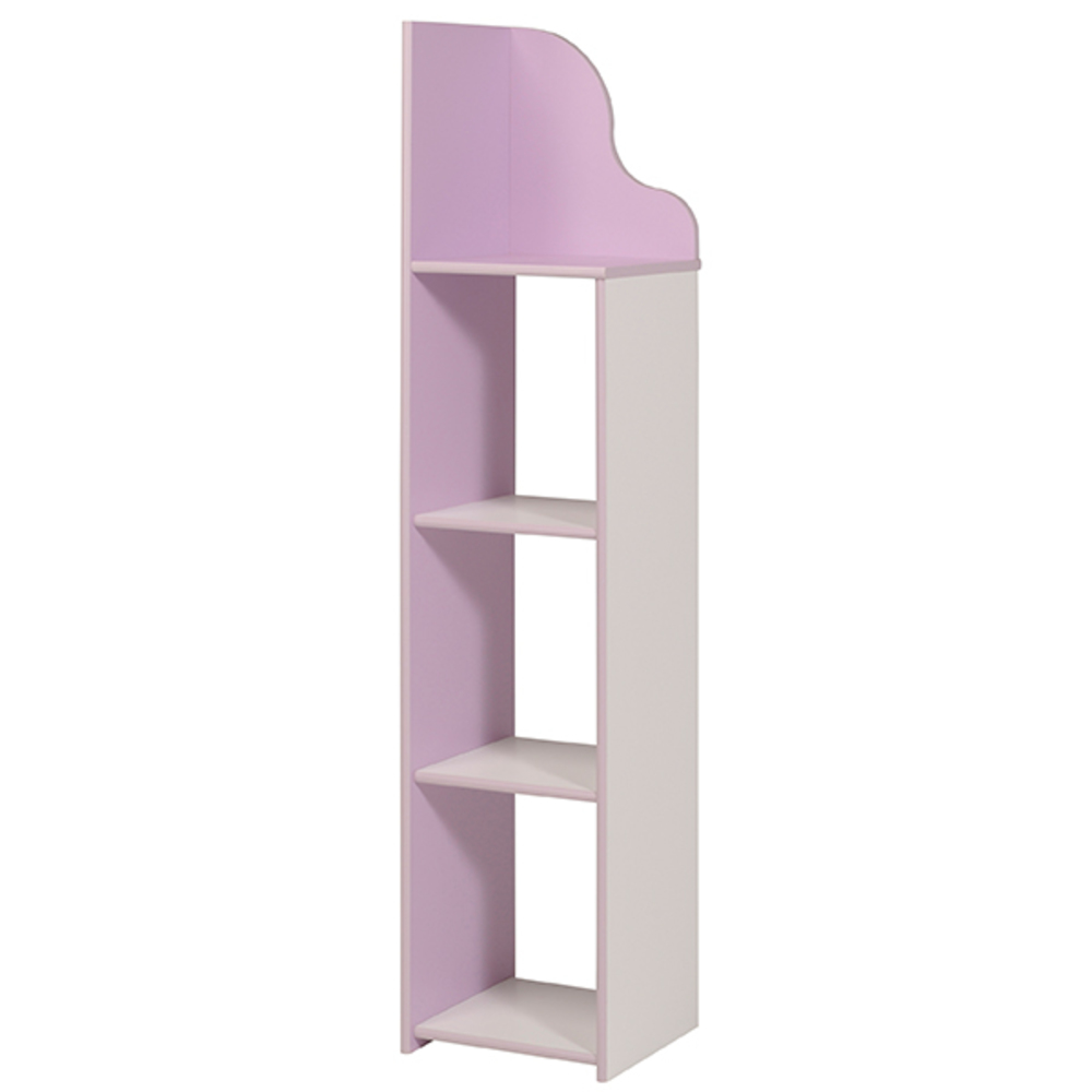 colonne mila blanc lilas. Black Bedroom Furniture Sets. Home Design Ideas