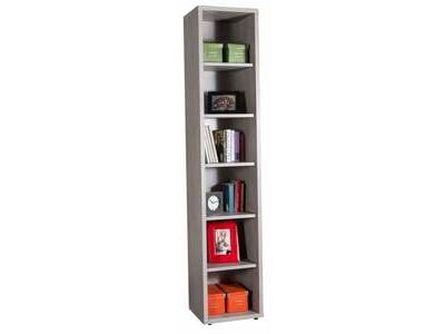 Bibliotheque haute Ufficio blanc/gris