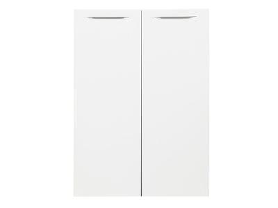 Jeu de 2 portes Ufficio blanc/gris