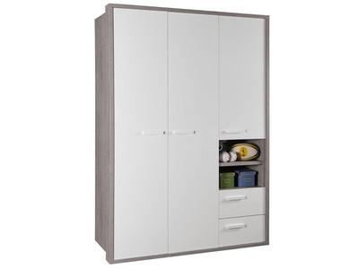 Armoire 3 portes 2 tiroirs Mipiace