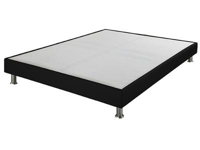 sommier tapissier sl 15 3d noir l 160 x h 15 x p 200. Black Bedroom Furniture Sets. Home Design Ideas