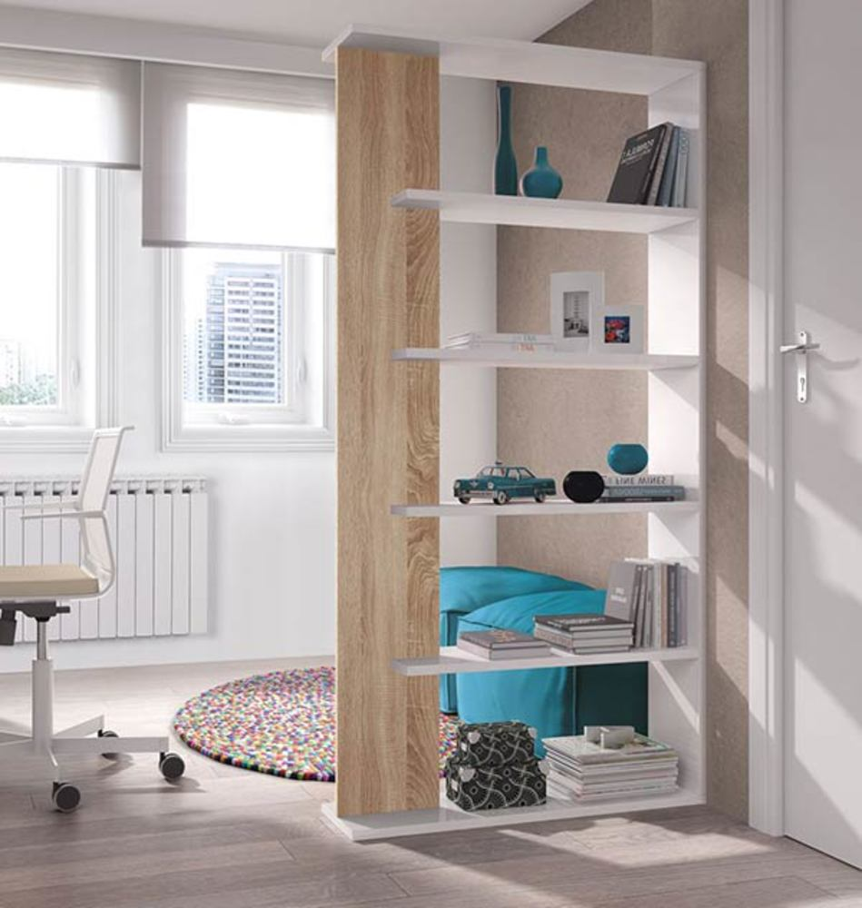 etag re alida blanc brillant chene. Black Bedroom Furniture Sets. Home Design Ideas