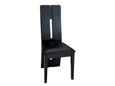 Chaise Electra laque noir