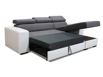 Canapé d'angle convertible et réversible Avila