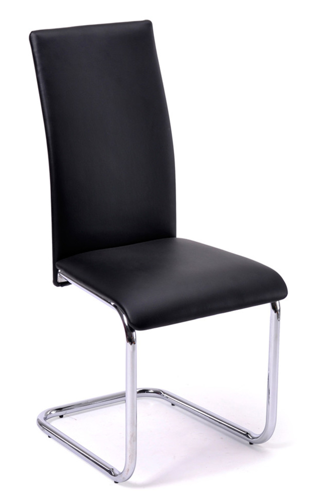 Chaise sofi noir for Chaise confortable salle a manger