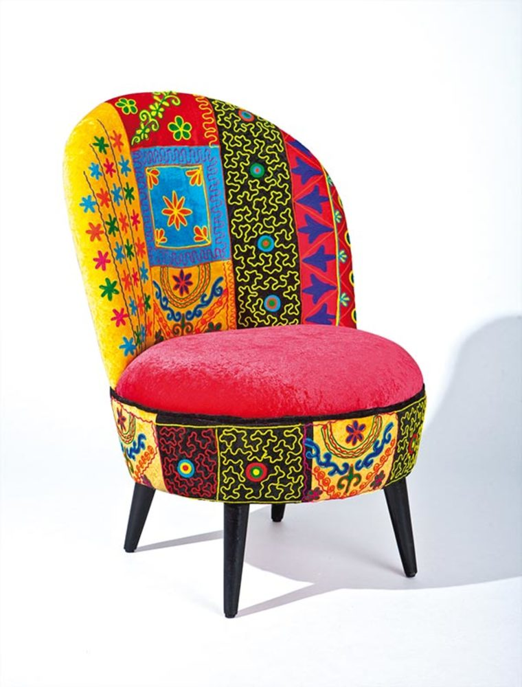Fauteuil Vera Cruz - Fauteuil multicolore design
