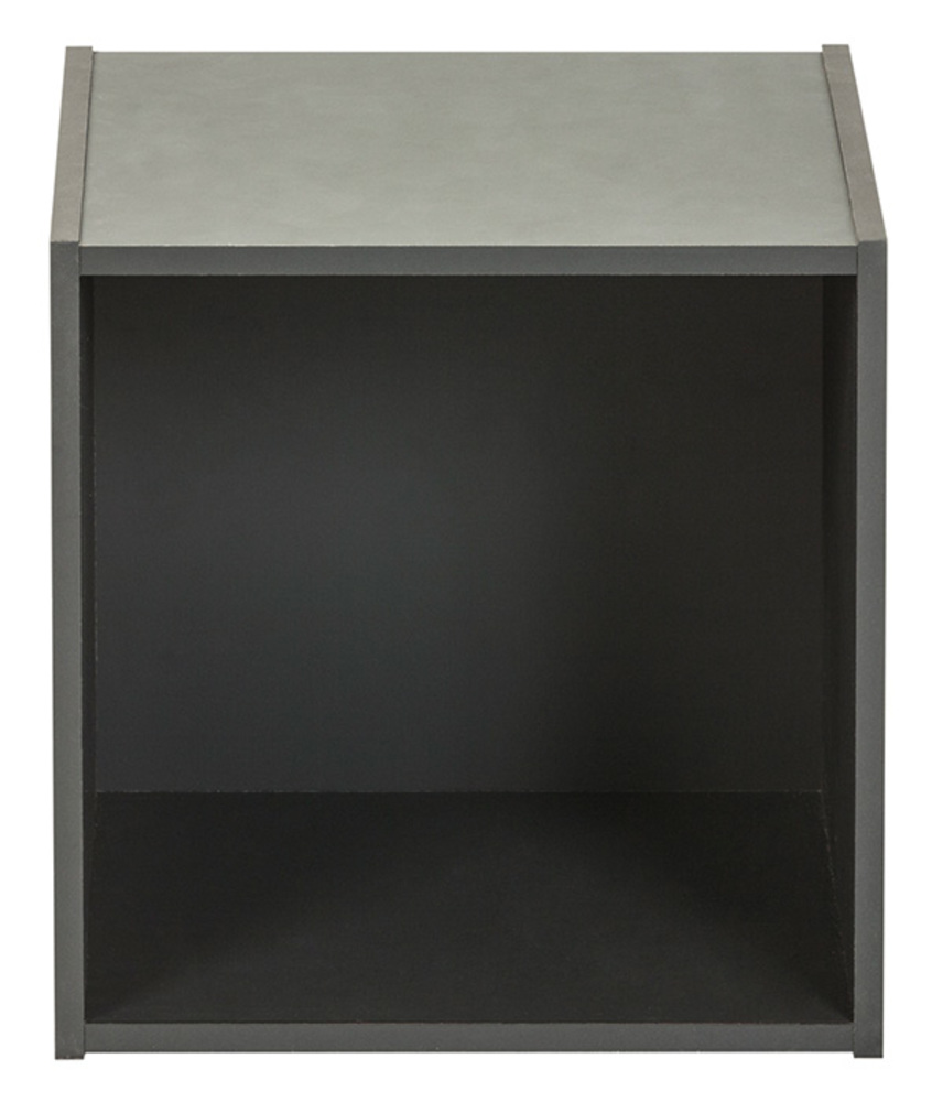 Etag re 1 case optima gris anthracite - Etagere murale gris anthracite ...