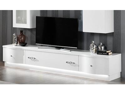 Meuble tv plasma  avec leds