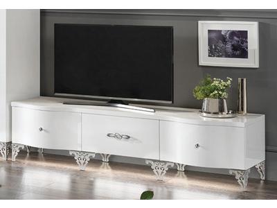 Meuble tv plasma Athena cromo
