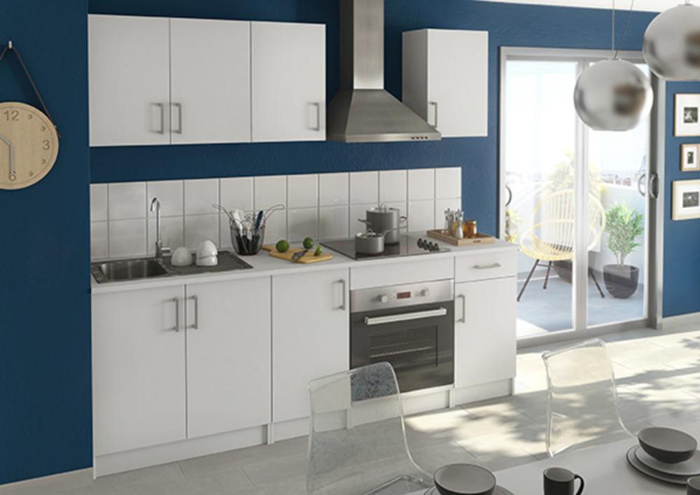 element bas 2 portes ludovica blanc. Black Bedroom Furniture Sets. Home Design Ideas
