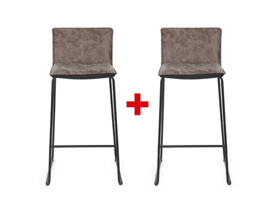 Lot de 2 tabourets de bar Eloise