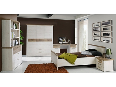 Chevet 3 tiroirs Duro chambre à coucher