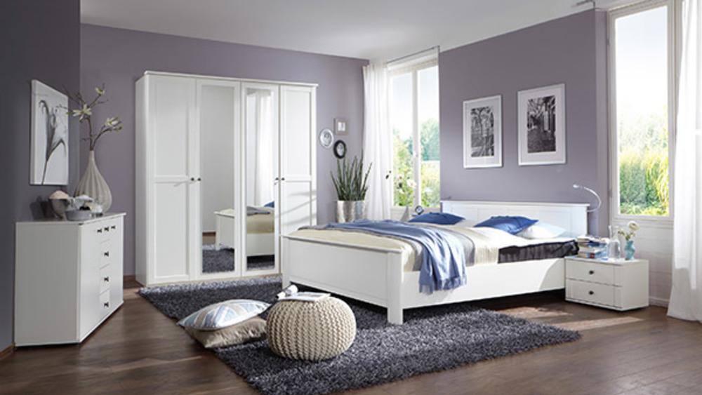 commode 6 tiroirs chalet blanc. Black Bedroom Furniture Sets. Home Design Ideas