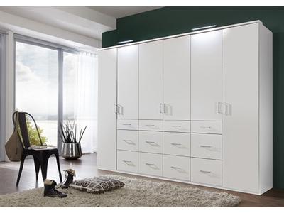 Armoire 6 portes 12 tiroirs