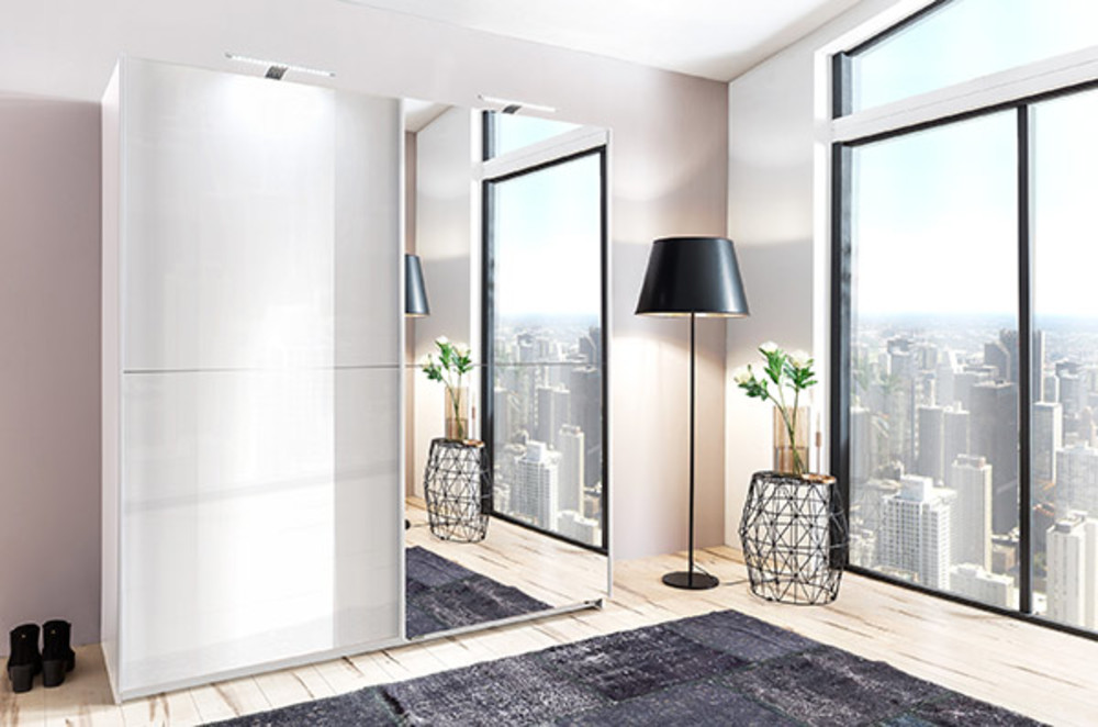 armoire meissen blanc blanc laqu. Black Bedroom Furniture Sets. Home Design Ideas