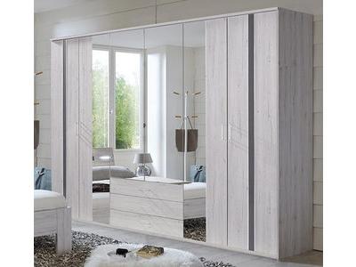Armoire 6 portes 3 tiroirs