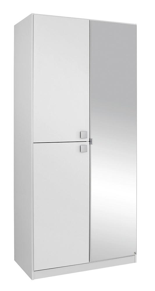Armoire 3 portes caria blanc - Armoire blanche 3 portes ...