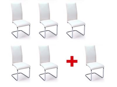 Lot de 5 chaises + 1 offerte Sofi