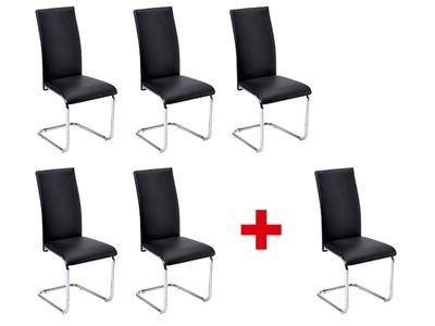 Lot de 5 chaises + 1 offerte