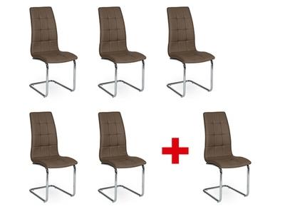 Lot de 5 chaises + 1 offerte Bleach