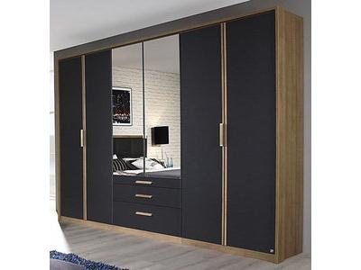 Armoire 6 portes + 3 tiroirs