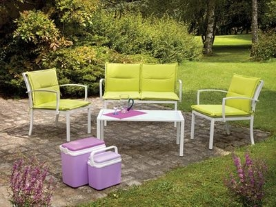 Canape 2 places + 2 fauteuils