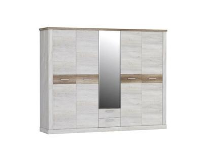 Armoire 5 portes 2 tiroirs