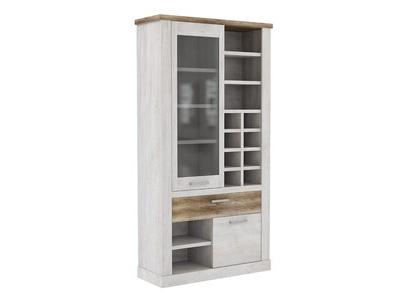 vitrine gm duro salle manger pin blanc chene antique. Black Bedroom Furniture Sets. Home Design Ideas