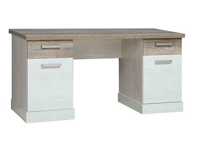 Bureau 2 tiroirs+ 2 portes