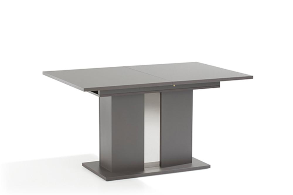 table de repas kolony gris. Black Bedroom Furniture Sets. Home Design Ideas