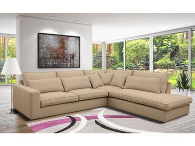 Canapé d'angle à droite Gola
