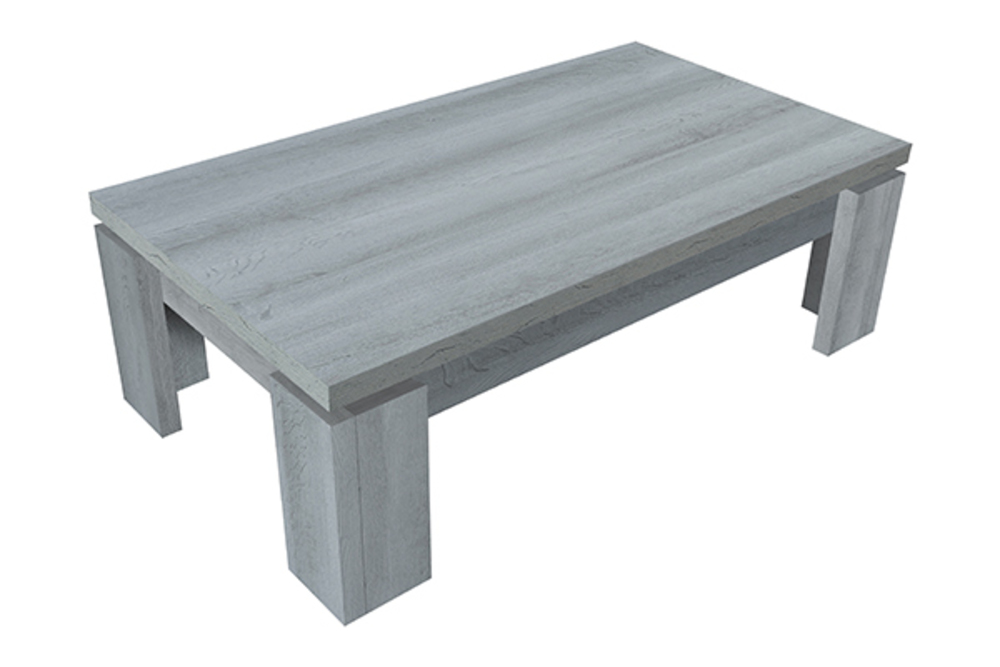 Table basse norden chene gris - Table basse chene gris ...