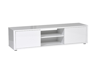 Meuble tv pm Urbana blanc brillant
