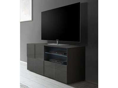 meuble tv ferrara chene canyon. Black Bedroom Furniture Sets. Home Design Ideas
