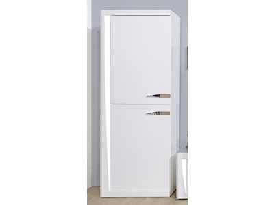 Rangement 2 portes Orba blanc