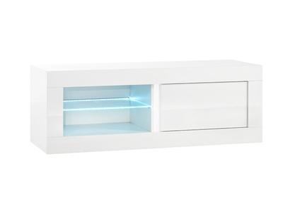 Meuble tv plasma Neos blanc
