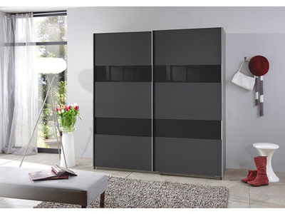 Armoire 2 portes coulissantes Chess glas