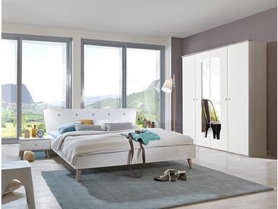 Armoire 5 portes 6 tiroirs Bergen