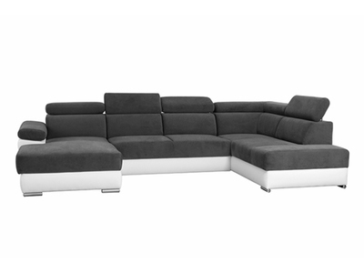 Canapé d'angle en u