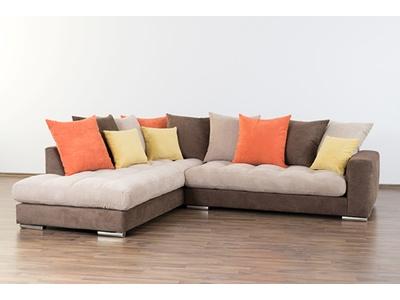 Canapé d'angle à gauche Nelson