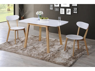Ensemble table + 2 chaises Lund/oslo