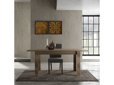 Table de repas extensible Candi chene canyon
