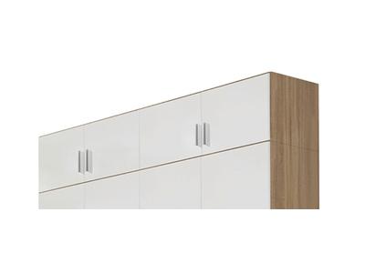 Surmeuble d'armoire 4 portes