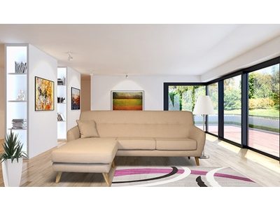 Canapé d'angle réversible Alexia