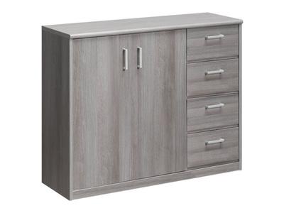latest meuble portes tiroirs soft plus with meuble bas cuisine profondeur 30 cm. Black Bedroom Furniture Sets. Home Design Ideas