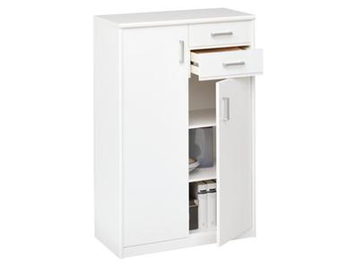 Meuble 2 portes + 2 tiroirs Soft plus